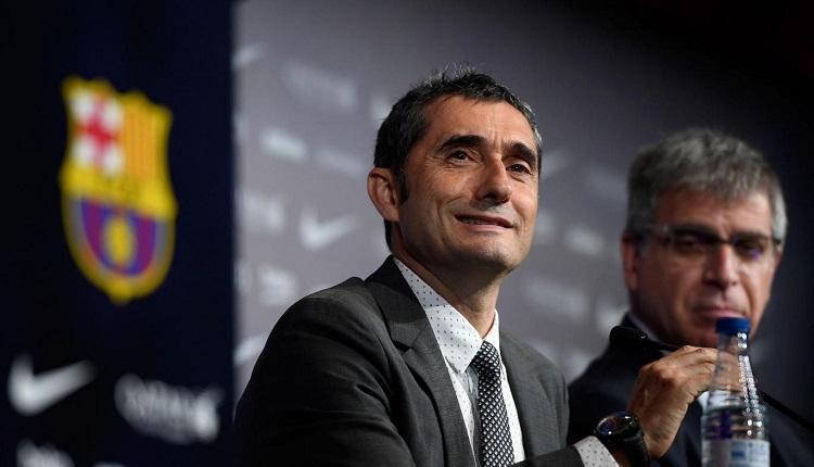 Барселона представи Валверде