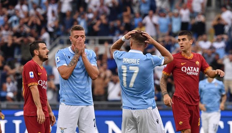 Шест греди не позволиха на дербито на Рим да излъчи своя победител
