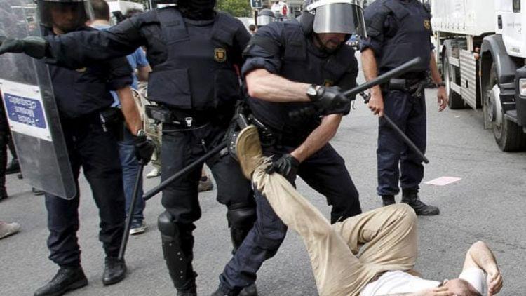 Размирици Каталуния