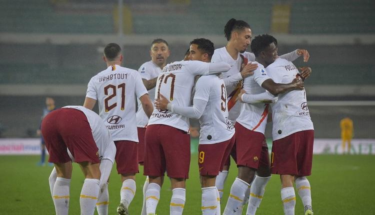 Рома изкова победата във Верона