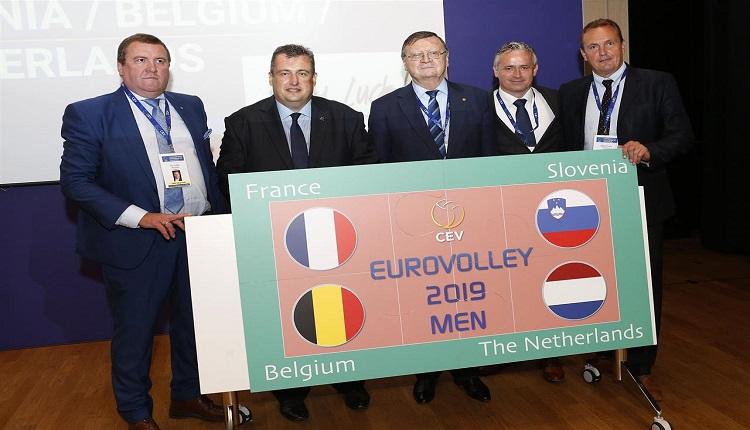 Четири държави ще бъдат домакини на Евроволей 2019