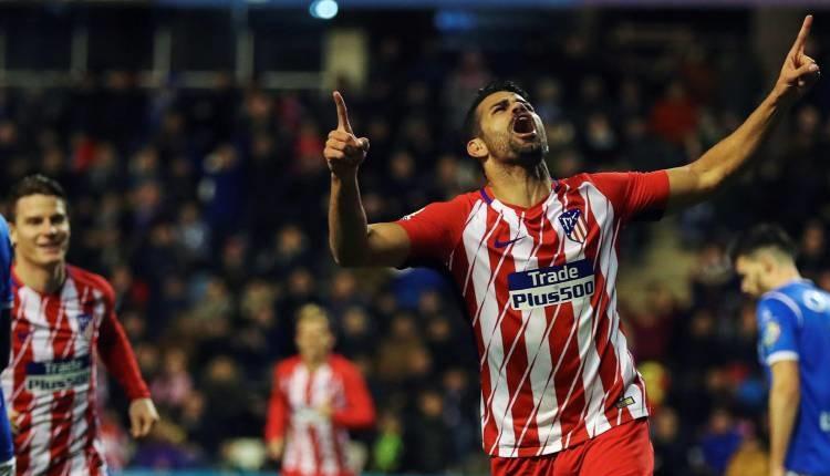 Атлетико (Мадрид) разби Леида с 4:0
