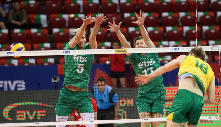 България с тежка загуба от Австралия