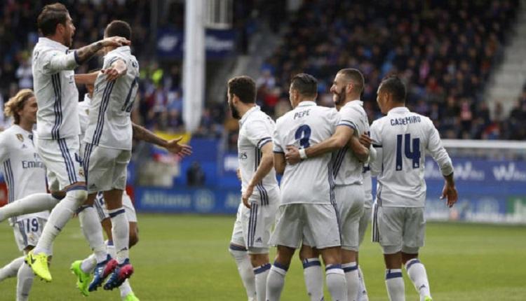 Реал (Мадрид) разби Ейбар с 4:1