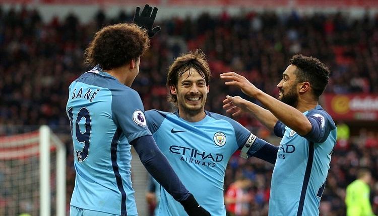 Манчестър Сити победа Съндърланд с 2:0