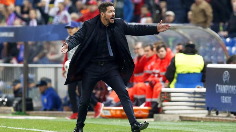 Симеоне направи 400 мача начело на Атлетико