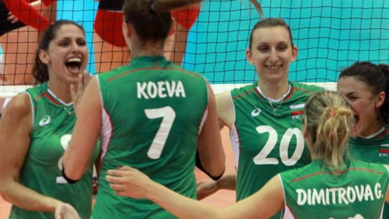 Волейболистките  ни са в топ 4 на Европейската златна лига, продължават напред