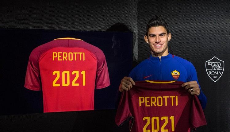 Рома обяви за новия договор на Пероти