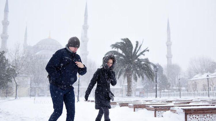 turkey istanbul snow 2017