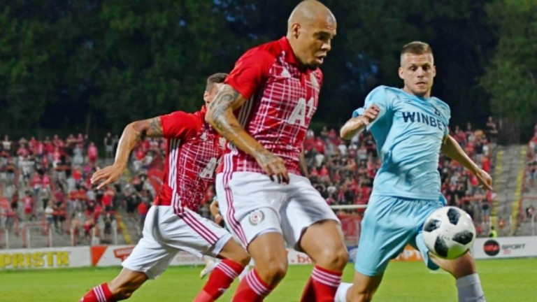 ЦСКА загуби първия си мач с Копенхаген с 1:2 в трети квалификационен кръг на Лига Европа