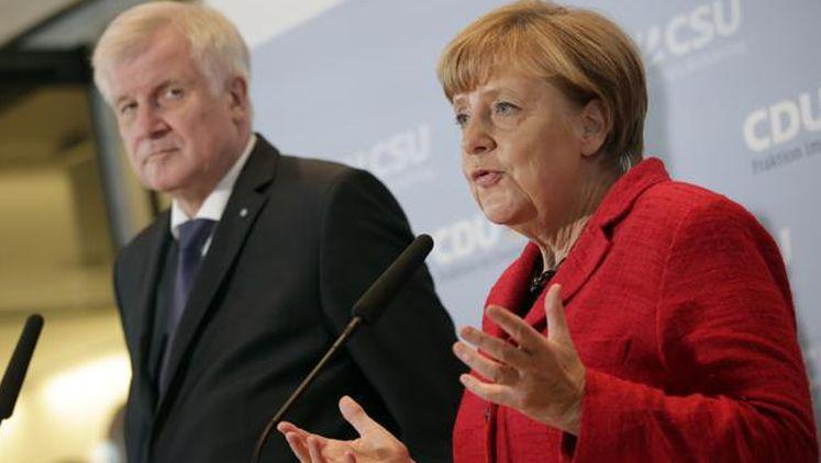 angela merkel horst seehofer migrants