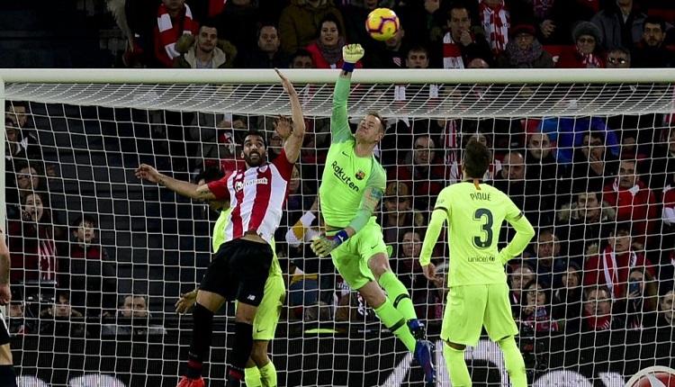 Барселона се спъна срещу Атлетик Билбао
