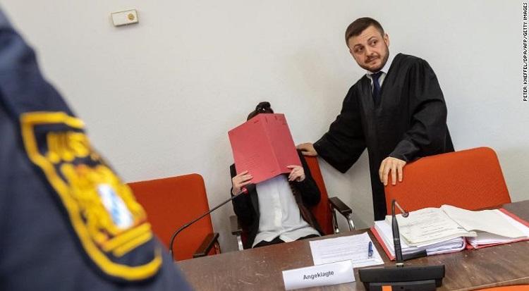 Германка на съд