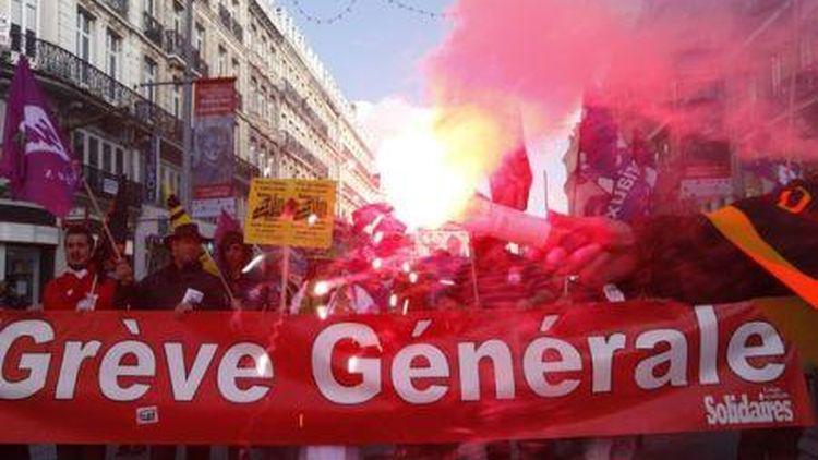 france general strike