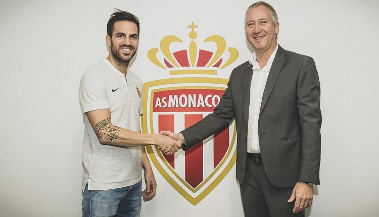 Фабрегас е футболист на Монако
