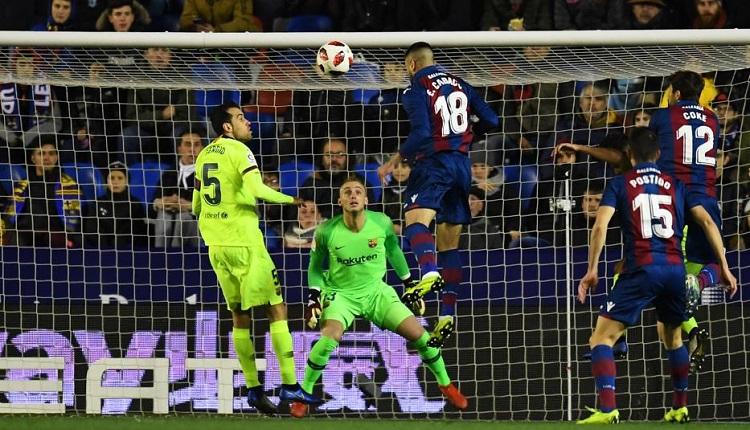 Леванте победи Барселона с 2:1