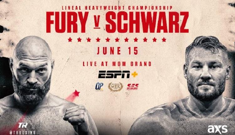 Фюри и Шварц може да се бият за световната титла на Анди Руис на WBO