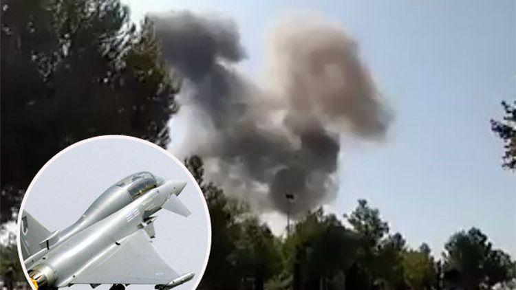 spanish eurofighter crash
