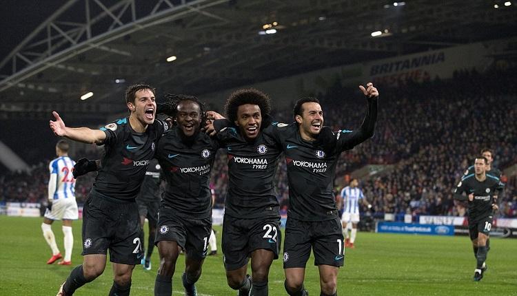 Челси победи Хъдърсфийлд с 3:1