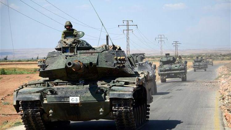 turkish tanks in syria