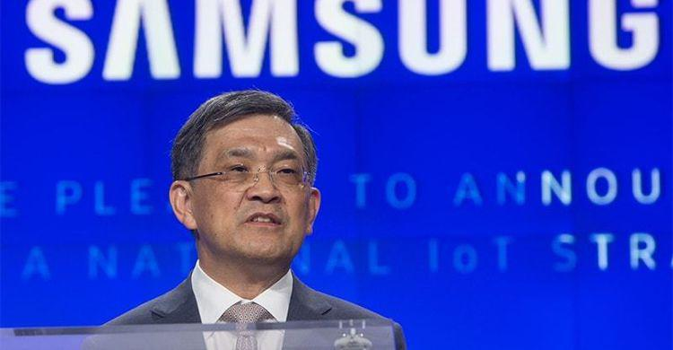 samsung electronics ceo resign