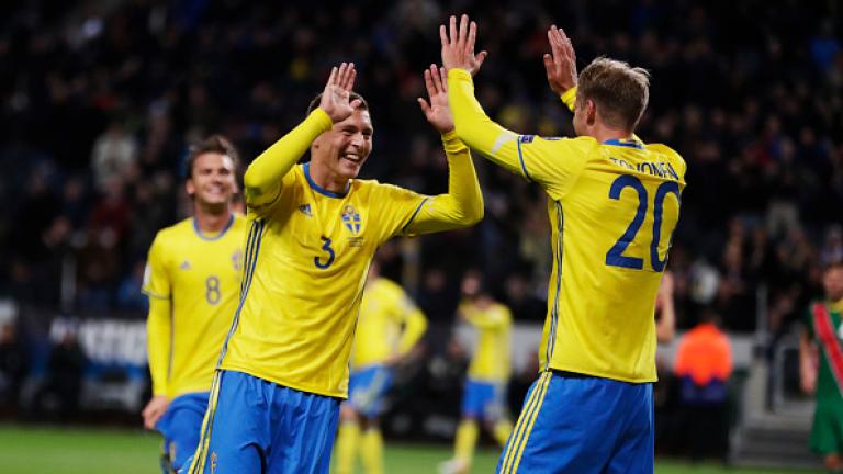 Швеция изхвърли Италия и отива на Мондиал 2018