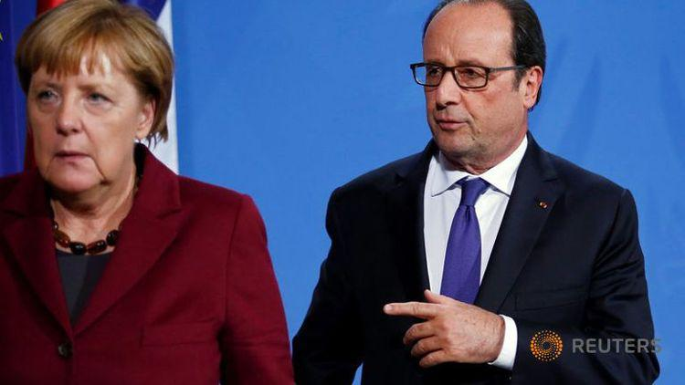 angela merkel francois hollande berlin 2016