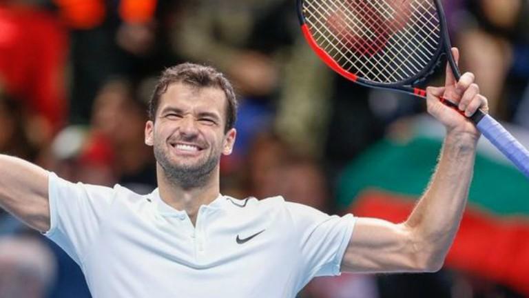 Григор Димитров  излиза срещу японски тенисист днес в  ранния следобед в Ротердам