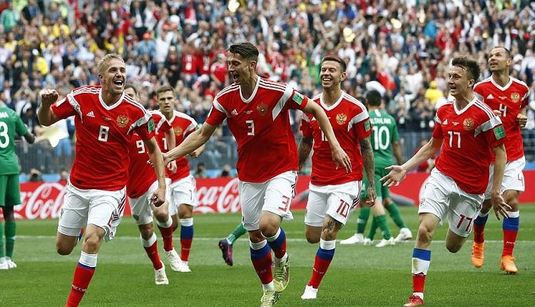Русия разби Саудитска Арабия с 5:0