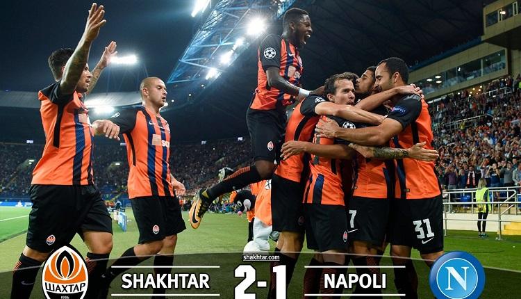 Шахтьор (Донецк) победи Наполи с 2:1