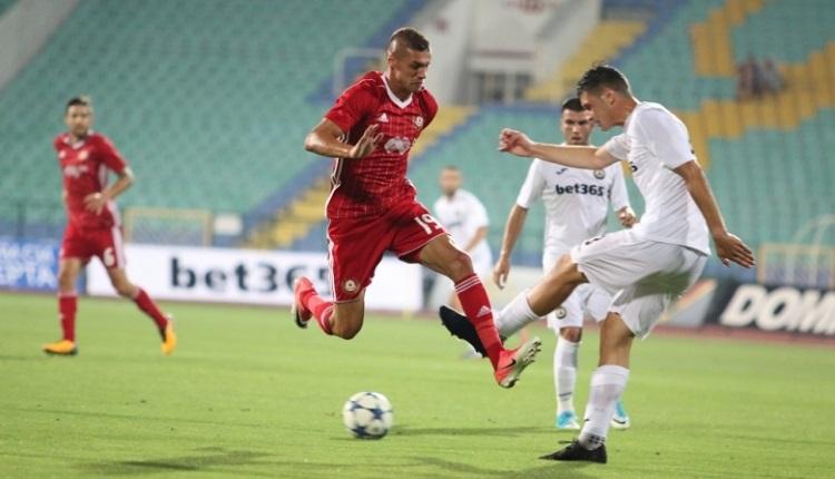 Славия и ЦСКА завършиха наравно 1:1