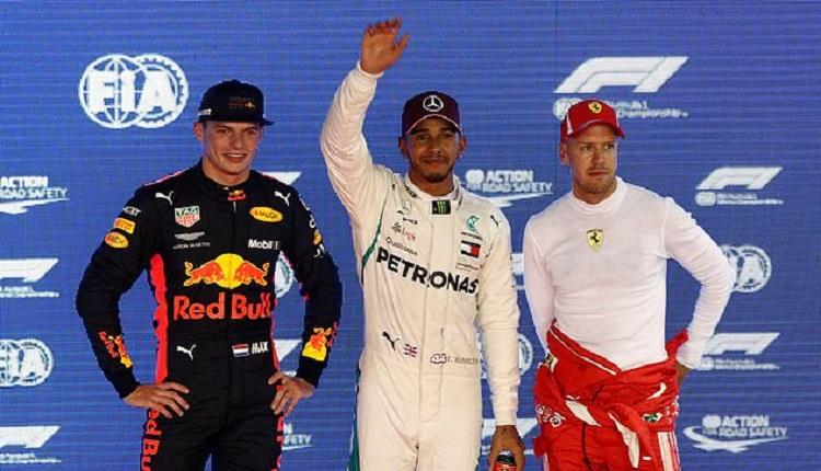 Хамилтън прати конкурентите от Ферари зад себе си