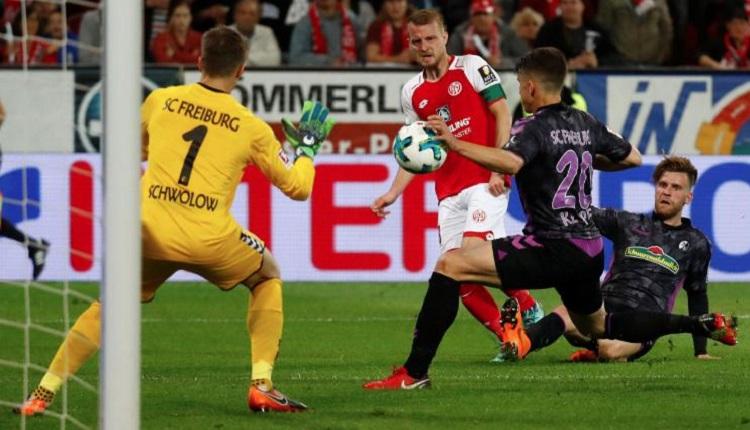 Майнц 05 победи Фрайбург с 2:0