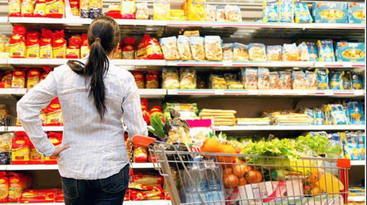 супермаркет храни