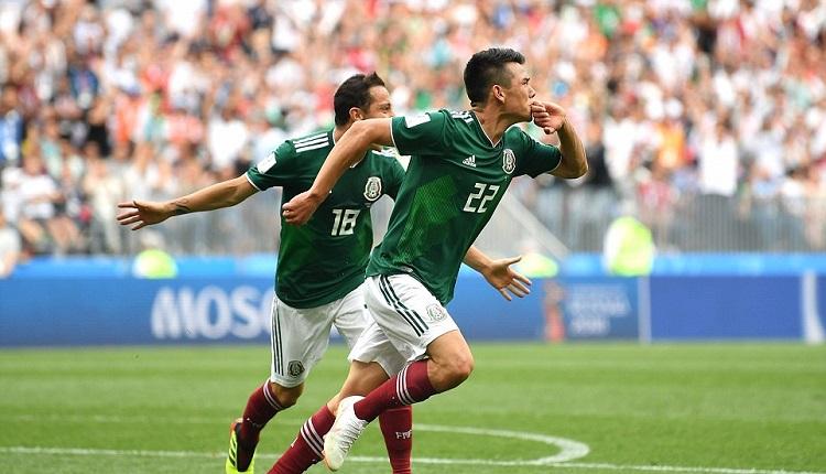 Мексико победи Германия с 1:0