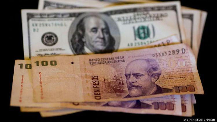Резултат с изображение за аржентина валута