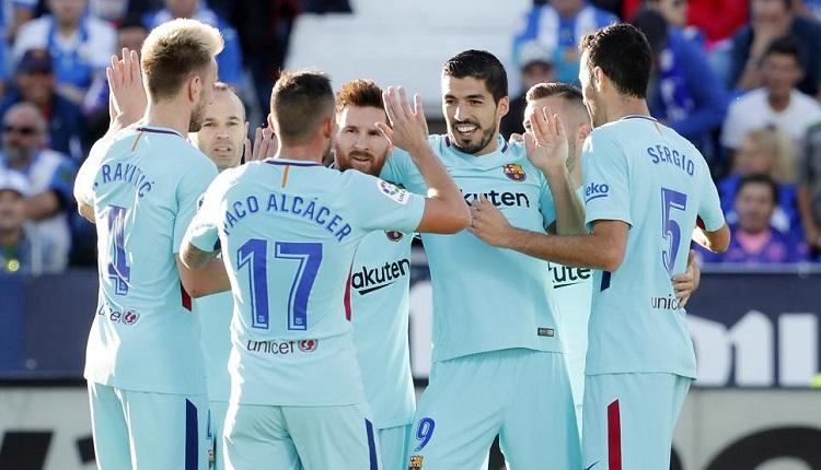 Барселонанадви Леганес с 3:0