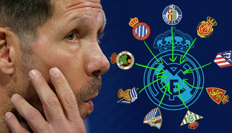 Симеоне: Реал Мадрид обира талантливите деца от всички испански отбори
