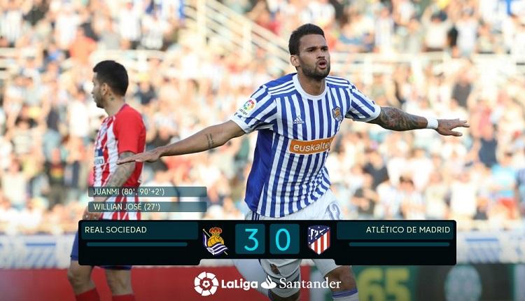 Реал Сосиедад надви Атлетико (Мадрид) с 3:0