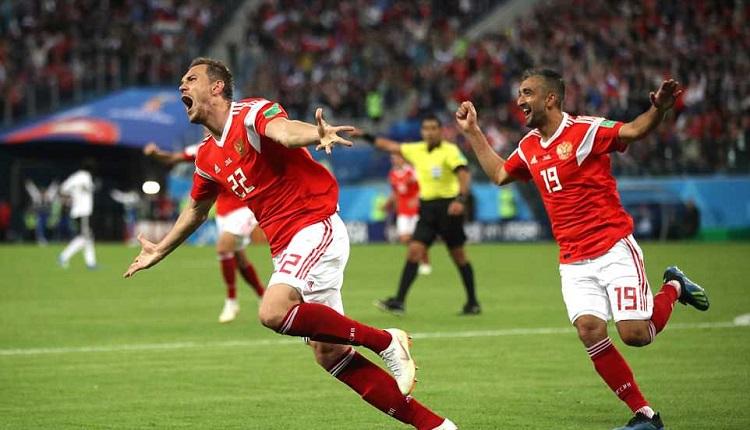 Русия победи Египет с 3:1