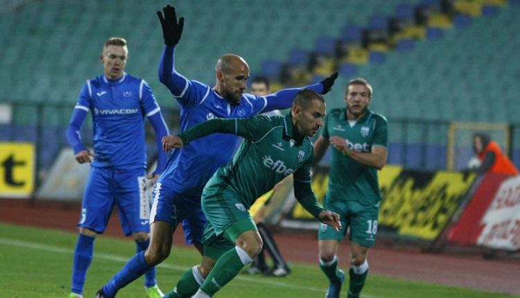 Левски и Витоша (Бистрица) завършиха наравно 0:0