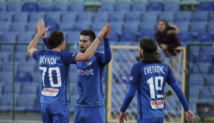 Левски победи Витоша (Бистрица)с 2:0