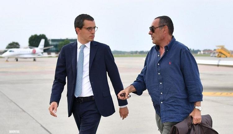 Маурицио Сари пристигна в Торино