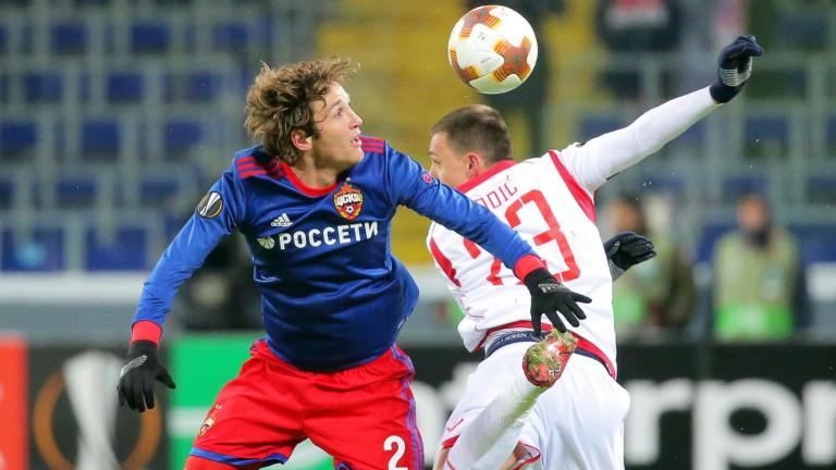 ЦСКА (М) на 1/8-финал в ЛЕ, Жоро Миланов помогна в драма срещу Цървена звезда