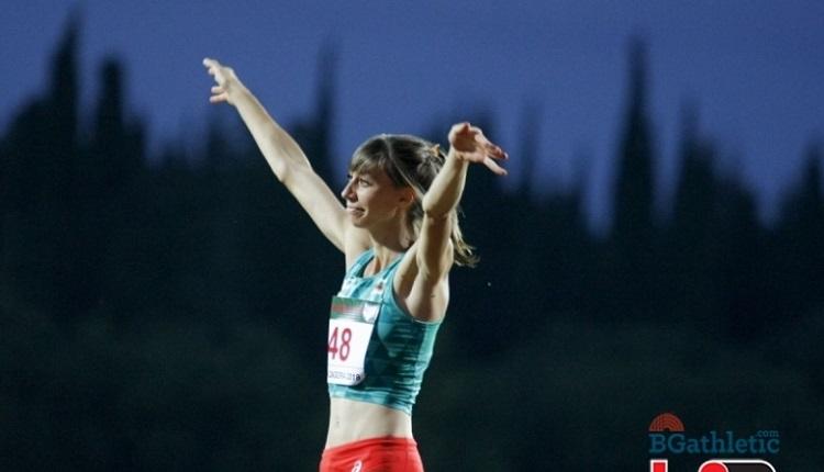 Мирела Демирева зарадва България със златен медал