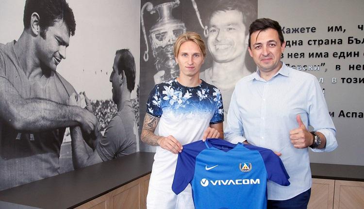 Левски взе Богдан Вашчук