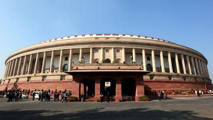 Резултат с изображение за парламента на Индия.