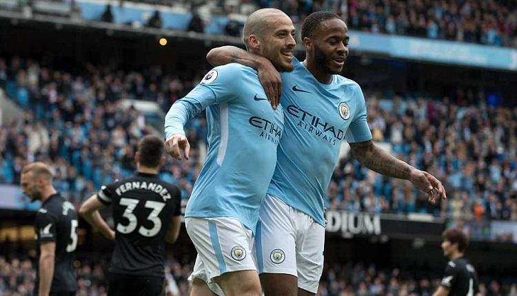 Манчестър Сити победи Суонзис 5:0