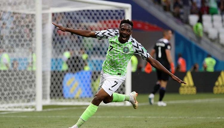 Нигерия надви Исландия с 2:0