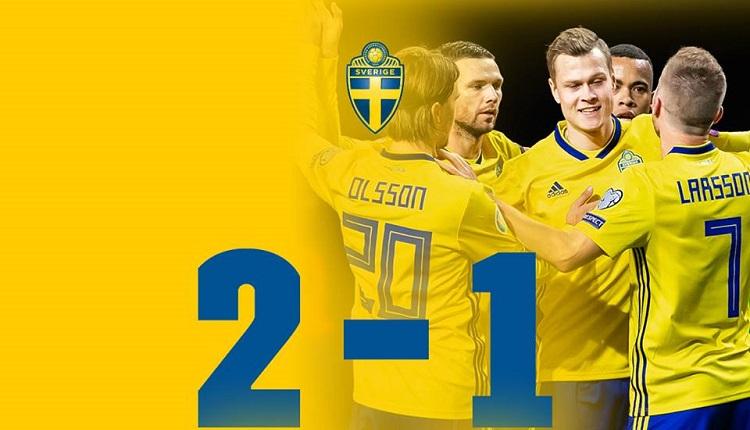 Швеция победи Румъния с 2:1